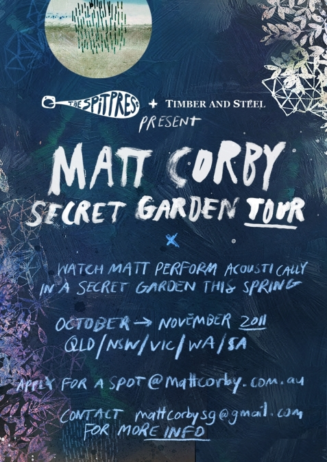 Matt Corby Secret Garden