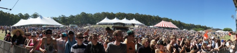 Crowd Panorama at Falls Festival by Stu B