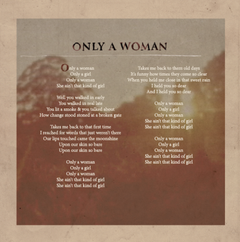 Only A Woman