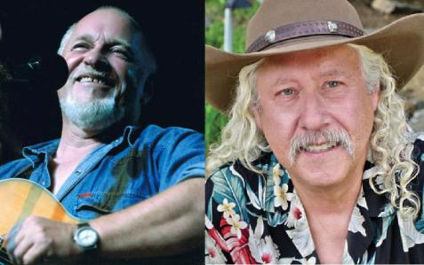 Eric Bogle and Arlo Guthrie