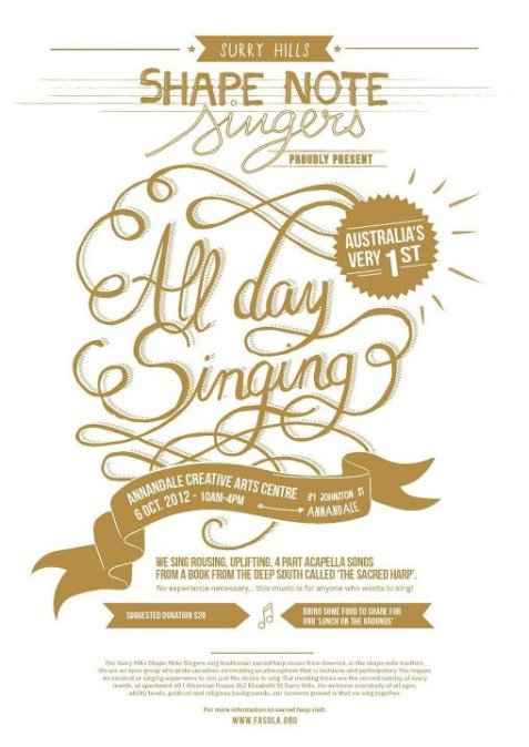 Sacred Heart Singing Convention