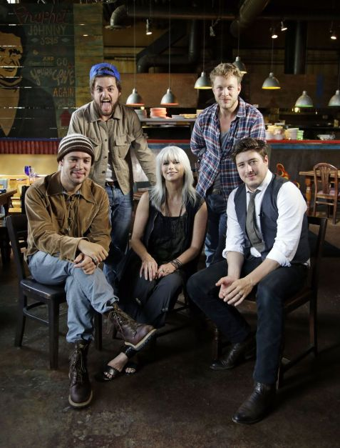 Mumford and Sons and Emmylou Harris