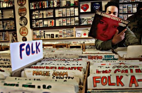 Folk Record Store