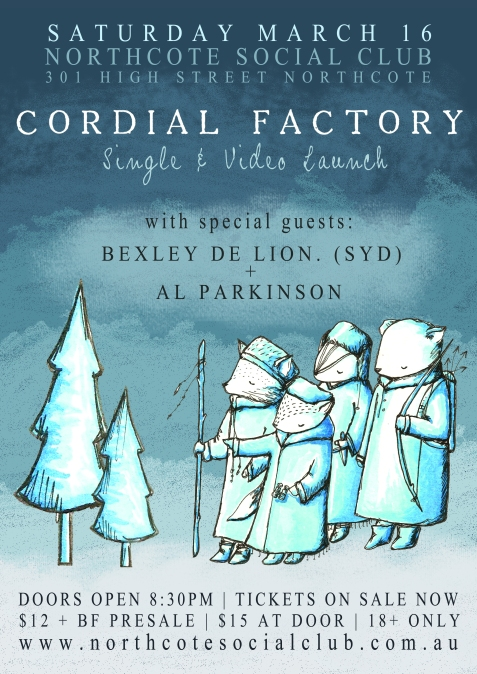Cordial Factory Launch