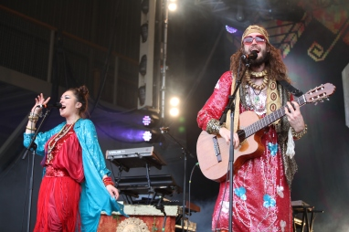 Crystal Fighters at Falls Festival Marion Bay