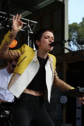 Emma Louise at Falls Festival Marion Bay