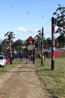 Entry to The Village at Falls Festival Marion Bay