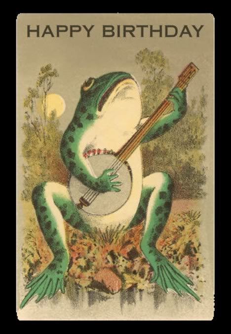 Frog with Banjo
