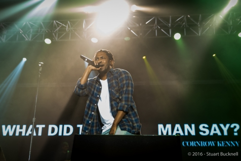 Kendrick Lamar - Photo by Stuart Bucknell