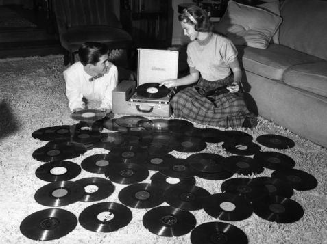 Couple With Records