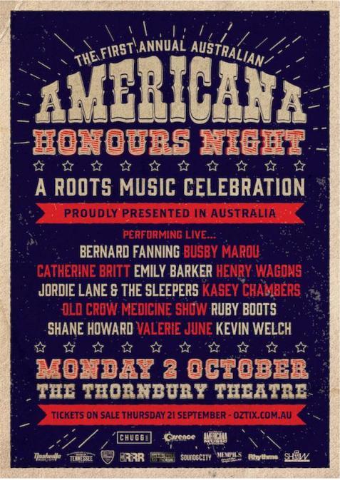 Australian Amerciana Honours